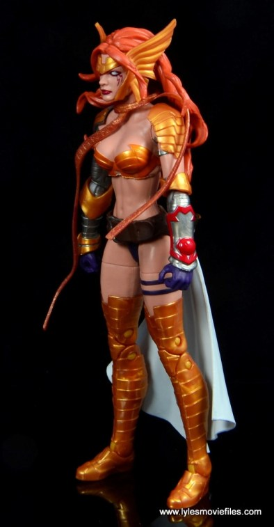 Marvel Legends Angela figure review -left side